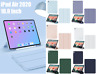 Year 2020 iPad Air 10.9 inch iPad Air 4 Smart Cover Pencil Holder Case TPU Back