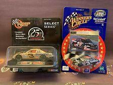 Winners Circle Dale Earnhardt #3 NASCAR Select Series 98 Bass Pro Shop Lot of 2