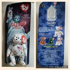 GLORY The Bear - 1997 McDonalds Ty Beanie Baby new in box.