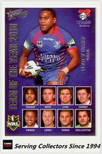 2011 Select NRL Strike Cards Team Of The Year TY11 Akuila Uate (Knights)
