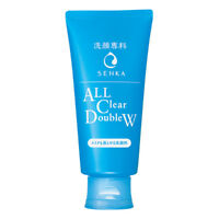 [SHISEIDO SENKA] All Clear Double W Makeup Remover & Facial Wash Cleanser 120g