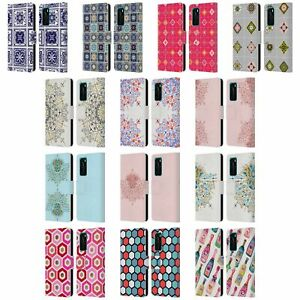 OFFICIAL CAT COQUILLETTE PATTERNS 6 LEATHER BOOK CASE FOR HUAWEI PHONES