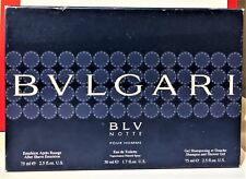 Bvlgari BLV Notte Pour Homme Spray 1.7 fl oz/50 ml 2.5 ASE+2.5 SG New As In Pic