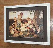 Childrens Story book, Sophie Anderson print,  victorian wall art -44 x 34cm