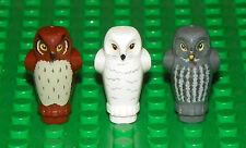 LEGO 10217 - HARRY POTTER - Diagon Alley Owl Lot - 3 Owl Lot