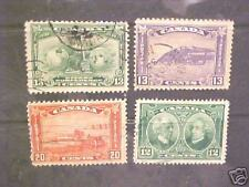 Small lot older Canada stamp used Vf