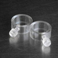 """3/4"""" EZ Mount Flag Mounting Rings 2 Pack Fits 3/4"""" Diameter Pole Made in USA"""
