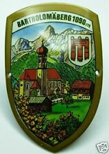 Bartholomäberg stocknagel medallion badge G5095