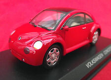 IMMACULATE RARE ART 261 DETAIL CARS VOLKSWAGEN CONCEPT 1 IN RED!DISPLAY CASE!