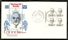 Canada SC # 592 Louis ST.Laurent FDC.Inscription BLK4  Kingswood Cachet