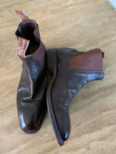 RM Williams Craftsman Chestnut Boots Size 9 F RRP $595