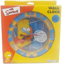 Simpsons I'm Bart Simpson Who the Hell are You Wall Clock