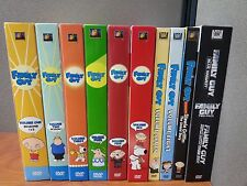 Family Guy LOT Volumes 1-8, Blue Harvest, Something Darkside, Stewie Griffin