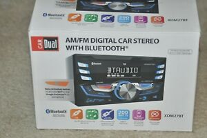 Double DIN Car Stereo Bluetooth Digital Media Receiver Radio MP3 USB AUX