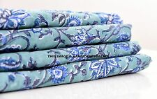 INDIAN HAND BLOCK PRINTED FABRIC 10 YARD COTTON SOFT VOILE BLOCK PRINT FABRIC