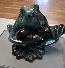 Vintage Blue Mountain Pottery - Frog Playing Guitar