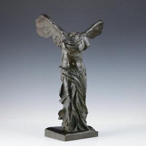 Nike von Samothrake Bronze 1883-1900 Gießerei F. Barbedienne Antike Viktoria