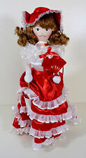 Nutcracker Village SOUTHERN BELLE 14' Wooden Doll Collectible Figure (2004)