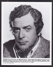 8x10 Photo~ Actor MICHAEL CAINE ~Crazy About The Movies ~Promo Headshot