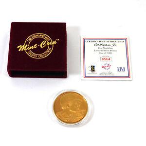 Highland Mint Cal Ripken Jr. Elite Bronze Coin # out of 5,000