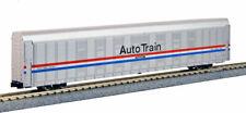 Kato N Scale Autorack Auto Carrier Amtrak Phase III 4 Car Set #2 1065508