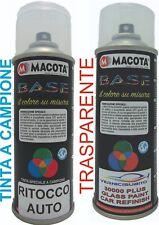 Bomboletta spray per il ritocco auto (Kit base + trasparente) TUTTI I COLORI
