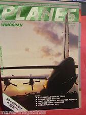 WINGSPAN PLANES # 17 DEC 1984 GOONEYBIRD EP9 RAF GAZELLE TEAM BAT FK26