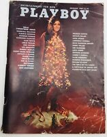 1968 December PLAYBOY Vargas Pinup 2pp Gala Christmas Issue Fair Condition