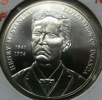2002 Uganda 2000 Shillings - Henry Stanley