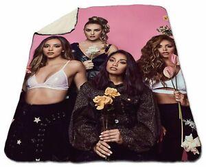 Little Mix Blanket Winter Sherpa Fleece 150 x 200 cm Queen Size Christmas Warm