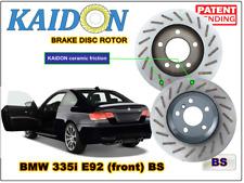 """BMW 335i E92 disc rotor KAIDON (front) type """"BS"""" spec"""