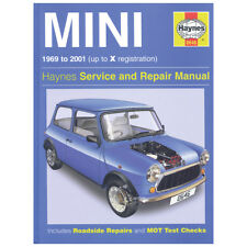Haynes Classic Mini MK3 MK4 1969-2001 Workshop manual MGL6220X