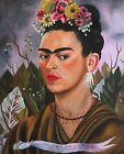 Print -   Self Portrait, Dedicated to Dr Eloesser, 1940 by Frida Kahlo