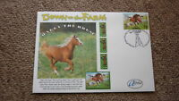 2005 AUSTRALIAN ALPHA STAMP ISSUE FDC, DOWN ON THE FARM, HARRY THE HORSE 2