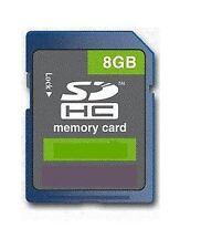 8GB SD SDHC Class 4 Hi Speed Fast Memory Card for Digital Camera's 8G SP