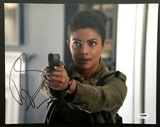 PRIYANKA CHOPRA SIGNED 11X14 PHOTO AUTOGRAPH PSA DNA COA QUANTICO