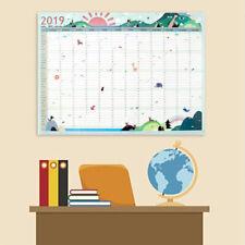 2019 365days Office School Daily Planner Wall Calendar Study Work Schedules