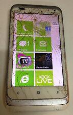 HTC T-Mobile Radar 4G - White (T-Mobile) Smartphone Cracked Glass