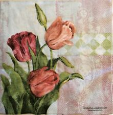 Paper Napkins For Decoupage 3 x Single same ( lot # s50) ☀