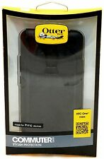 NEW Otterbox HTC One Max Black Commuter Series Case Smart Cell Phone Protection