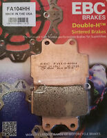 EBC/FA104HH Sintered Brake Pads (Rear) - Yamaha FZS600 Fazer, XJ600S Diversion