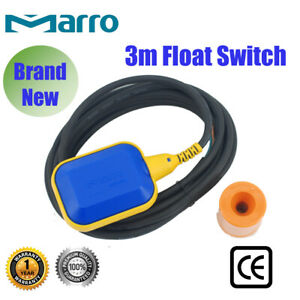 3M 250V Float Switch Water Tank Level Controller Sensor Liquid Fluid Contractor