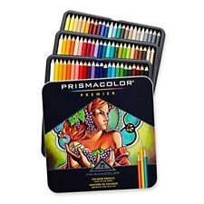 Prismacolor 72 Prismacolour Premier Coloured Soft Core Pencils Set in Tin Case