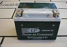 BATTERIE SLA12-4 Gel-System * 5Ah- NEU * Rollerbatterie