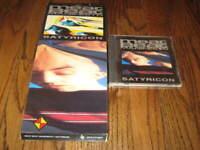 Meat beat manifesto Satyricon  with original cd and longbox! Rare!
