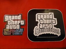 Grand Theft Auto San Andreas and GTA The Ballad of Gay Tony Sticker **RARE**