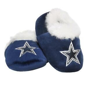 FOCO Dallas Cowboys Logo Baby Bootie Slipper - New - Medium