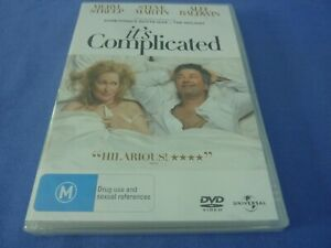 It's Complicated DVD Meryl Streep Alec Baldwin Steve Martin Regio 2,4 New Sealed