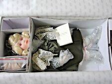 "Lenox Porcelain Doll 1991 Ellis Island Collection Eva 16"" Doll Nib Smoke Free 00004000"