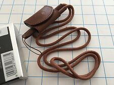 Leica carrying Strap with Accessory Case Brown for C-lux 2 ref 18683 -